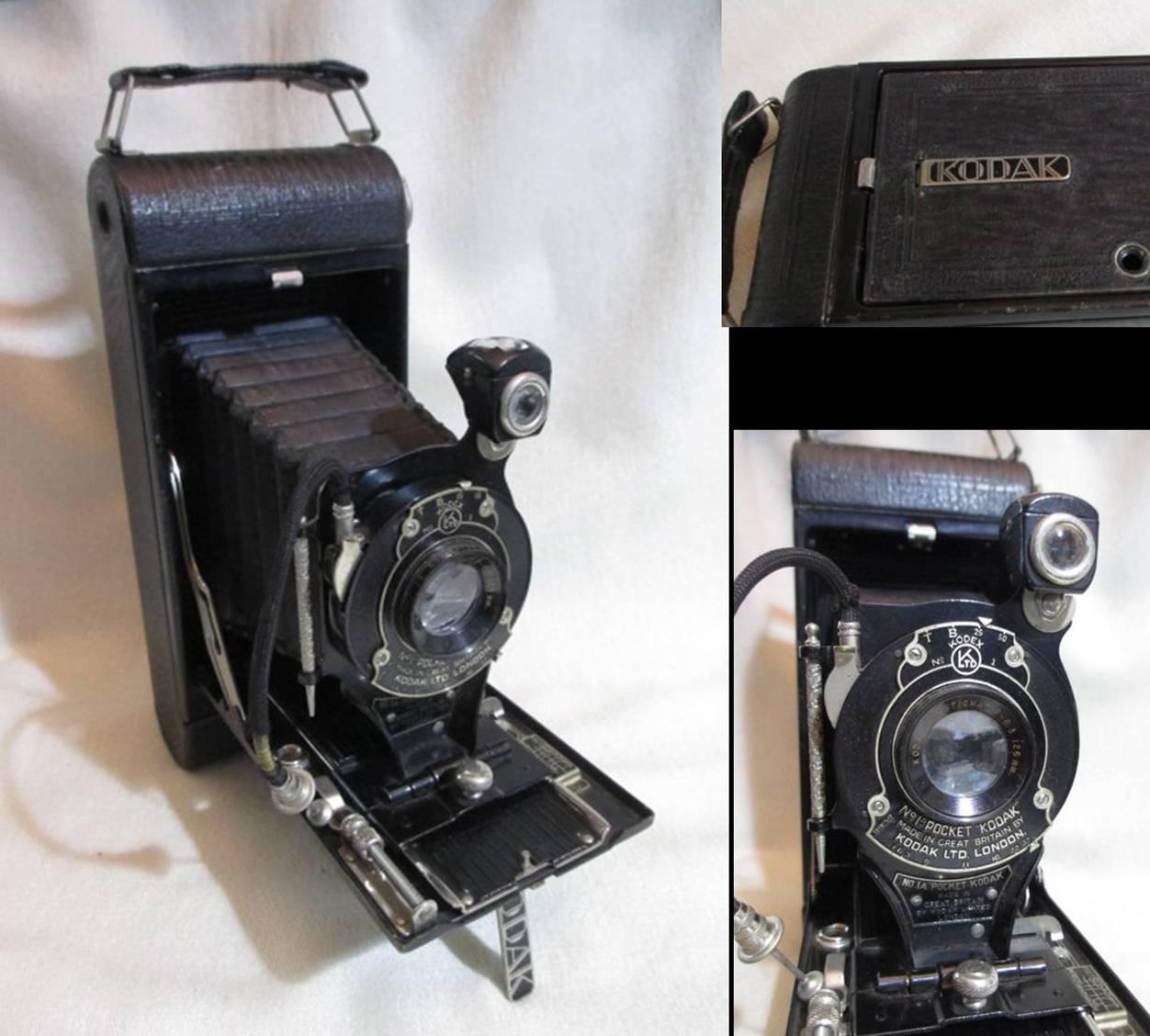 Kodakのフォールディングカメラ、No.1Aポケット・コダック