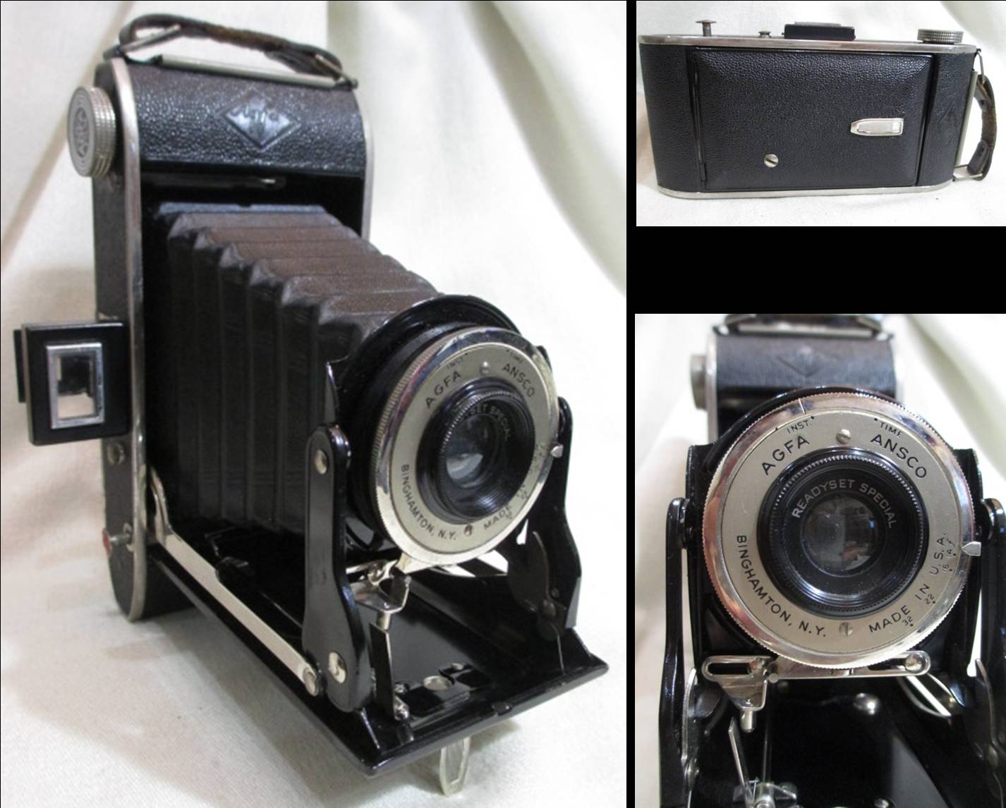 Agfa Anscoのフォールディングカメラ、Readyset Special