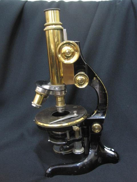 【アンティーク】 エルンスト・ライツの単眼顕微鏡