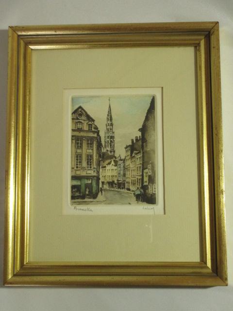 【ベルギーの絵画】ブリュッセルの風景画