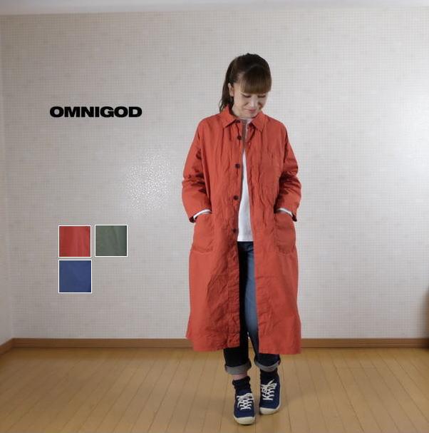 OMNIGOD(オムニゴッド)高密度ブロード ストアーズコート 58-818X