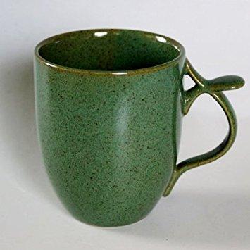 ハンドルのレストで持ちやすい リンドスタイメスト TEA グリーン ジャイアントマグカップ 超特価 送料無料限定セール中 ストーンウェアー 緑色 デザイナー カラー食器