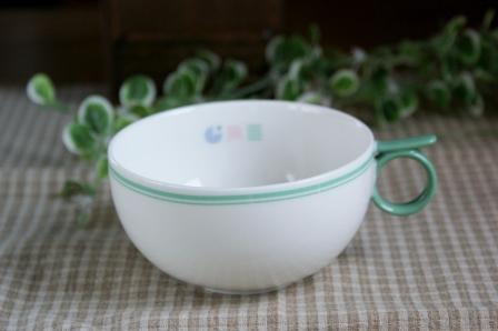 流行のアイテム やさしい色のスープカップ IDYLL 推奨 アイドリーパステルカラー緑 グリーン■スープカップ
