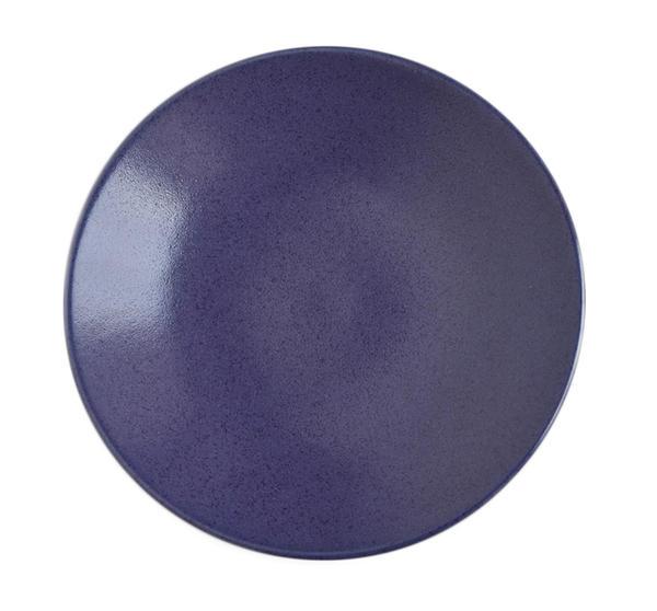 アメリカの著名なデザイナーによるデザイン ニュアンスのある青色 舗 ■リンドスタイメスト■blueberry パン皿16.5cm 直送商品 ブルーベリー カラー食器