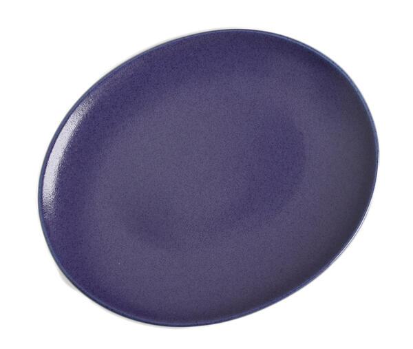 ☆正規品新品未使用品 ナチュラルでスタイリッシュ ニュアンスのある青色 ついに再販開始 リンドスタイメスト BLUEBERRY ブルーベリー 青色 ディナー皿 楕円長皿 30cm ディナープレート オーバル皿