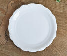 純白です 強度が3倍 好評受付中 強化磁器 輝きのスペシャルホワイト パスタ皿 大皿 最安値挑戦 ディナープレート