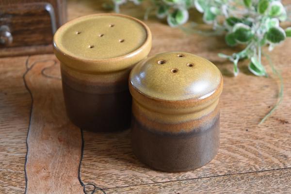 笠笠陶工梯度盐和胡椒,丈夫你豪华设置北欧简单容易-到-安全餐具