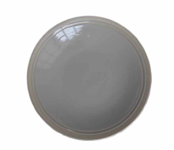 特売 アメリカの著名なデザイナーによるデザイン ■リンドスタイメスト■ニュアンスのある 艶やかな グレーベージュのパンプレート 国内正規品 ■16.5cm パン皿 小皿