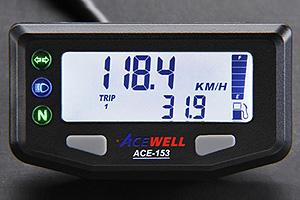 【あす楽対応】ACEWELL 多機能デジタルメーター(ACE-153タイプ) ACE-153