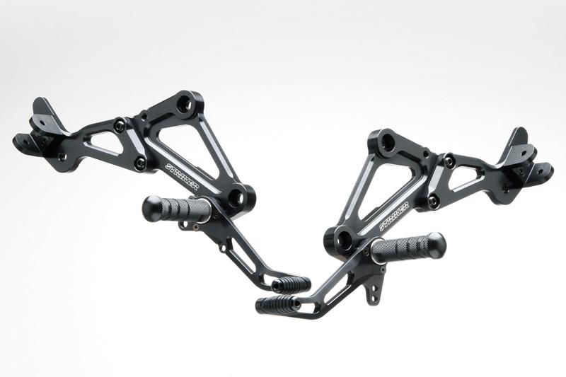 STRIKER スペシャルステップキット Type2 1ポジション(ブラック)/ゼファー1100 SS-AA202BT
