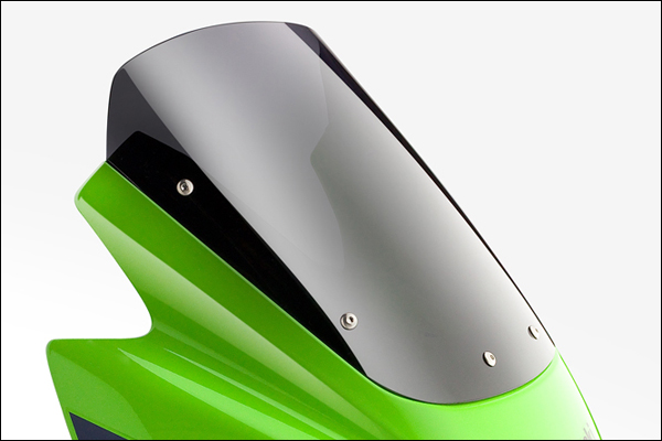 ACRYPOINT ZRX1200 DAEG (09-15年) ストリートタイプスクリーン (スモーク) 160391