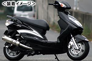REALIZE 22Racing SUS(22レーシング ステンレス) マフラー/シグナスX(台湾5期モデル) 315-009-00