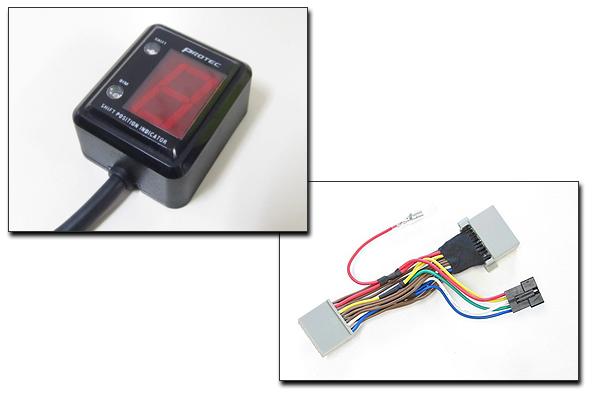 PROTEC CBR250R[MC41 11年-13年]専用 シフトポジションインジケーター SPI-H01