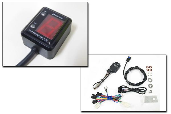PROTEC XR100 Motard[HD-13 05年-08年]専用 シフトポジションインジケーター SPI-M08
