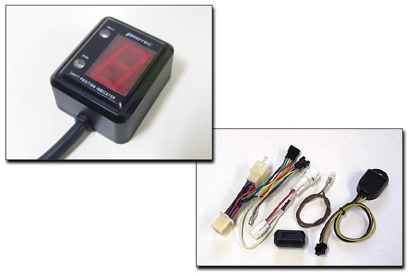 PROTEC KLX250[98年-06年/08年-]専用 シフトポジションインジケーター SPI-K66