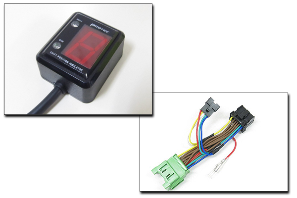 PROTEC ZX-9R[ZX900C 98年-99年]専用 シフトポジションインジケーター SPI-K55