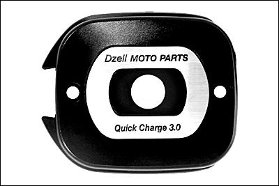DZELL USB TWO ポート HD-03(ブラック)リザーブタンク ボルトオンタイプ USBポート 780217