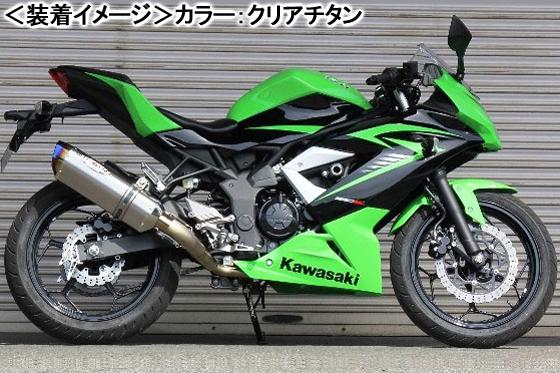 BEET NASSERT Evolution Type-II (ブルーチタン)/Ninja250SL 0227-KD2-BL