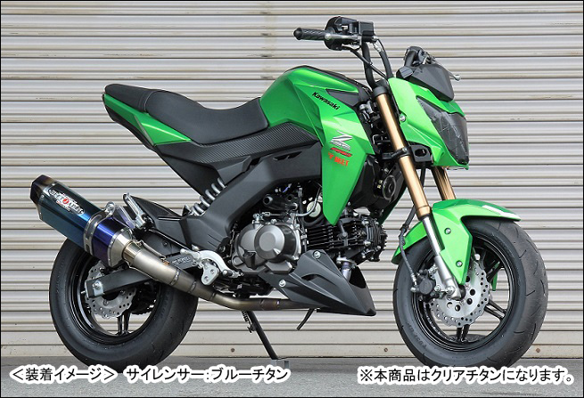 BEET NASSERT-R Evolution Type-II(クリアチタン)/Z125 PRO 1002-B55-50
