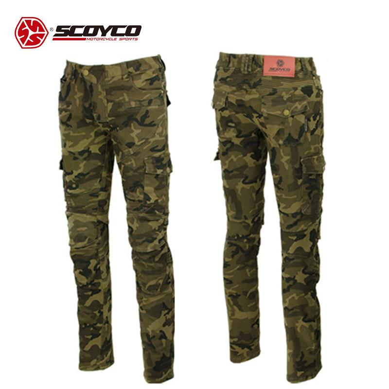 SCOYCO ライディングジーンズ P043-CAMO