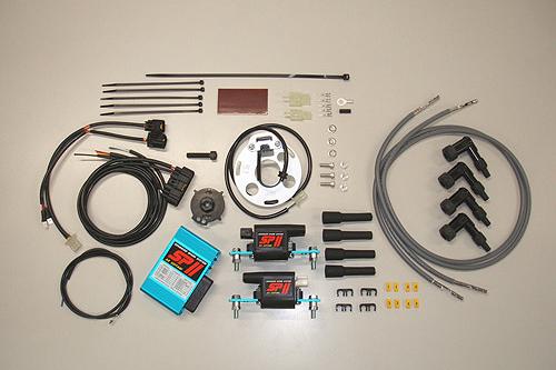 ASウオタニ Z750FX・Z750GP・GPZ750F SP2フルパワーキット(コードセット付) 0332P