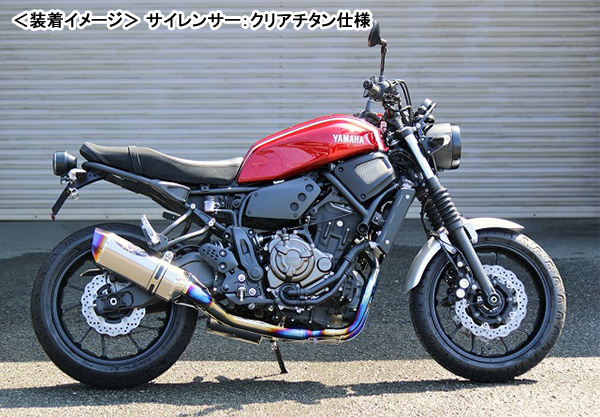 BEET XSR700 (18年-) NASSERT Evolution Type II T2(メタルブラック仕様) 0223-Y52-MB