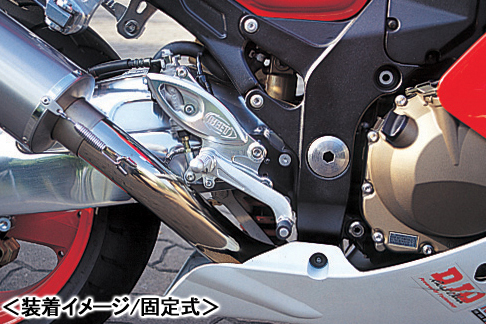 BEET ハイパーバンク(シルバー/可倒式)/ZX-12R 0113-K59-20
