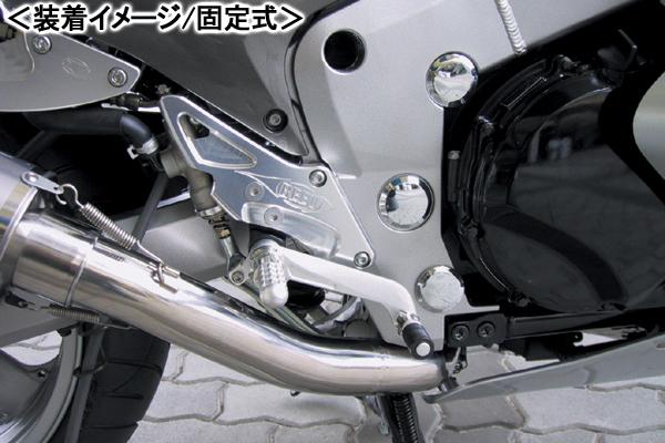 BEET ハイパーバンク(シルバー/可倒式)/ZZ-R1200 0113-K64-20