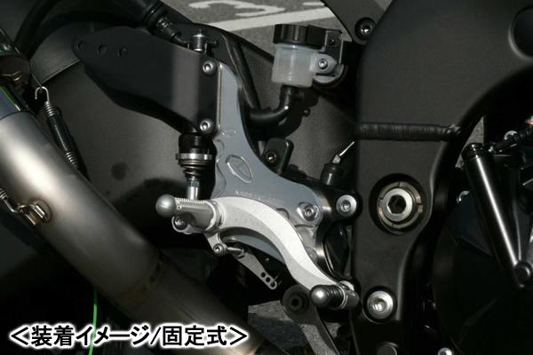 BEET ハイパーバンク(シルバー/固定式)/ZX-10R(06-08) 0111-K93-20