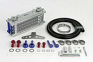 SP武川 コンパクトクールキット(ラバーホース)4F 5L(AW)ダイカストクラッチカバー装着車用/モンキー(FI対応) 07-07-0335