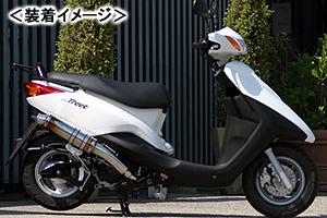 REALIZE EXIST Ti(イグジスト チタン) マフラー/アクシストリート 319-010-01