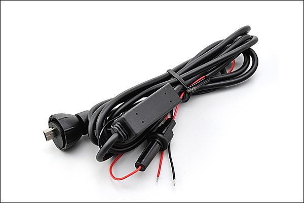 デイトナ ツーリング用品 ドライブレコーダー オプション 補修部品 セール価格 送料無料限定セール中 DAYTONA 12V電源ケーブル DDR-S100用 96866