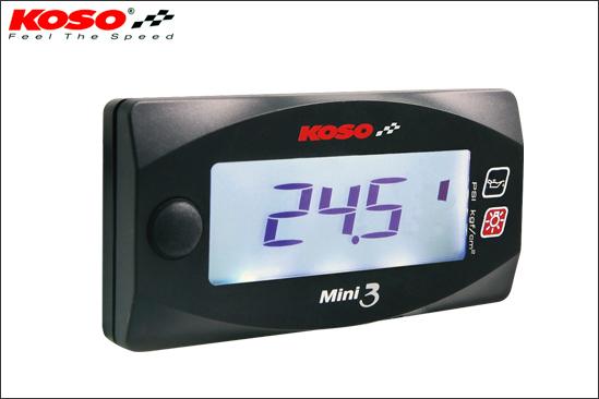 【あす楽対応】KN企画 KOSO Mini3デジタル油圧計 KS-M3-OP