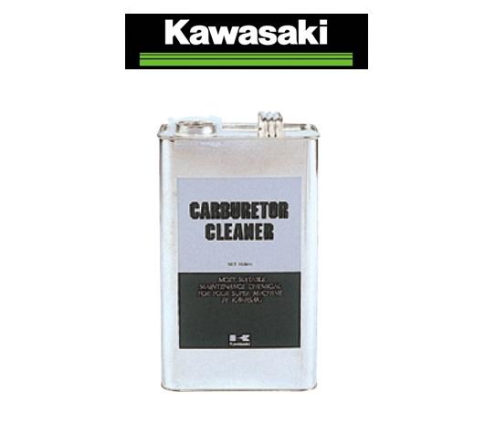 美品 Kawasaki カワサキ純正 4L 缶 キャブレターの汚れ用洗浄クリーナー キャブレタークリーナー 完売 J5013-0001