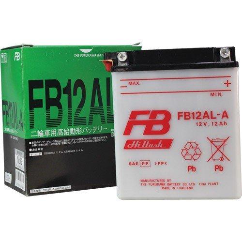 在庫有り 当日発送 古河電池 特売 二輪車用 バッテリー FB12AL-A 選択 YB12AL-A2 互換 NC11 等々 CBX650カスタム RC13 CBX400カスタム