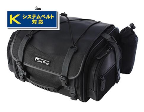 タナックス TANAX MFK-100 ブラック MOTOFIZZ 日帰り-1泊程度に便利アウトドアスタイルのシートバッグです 商店 19-27L 休日 容量 ミニフィールドシートバッグ