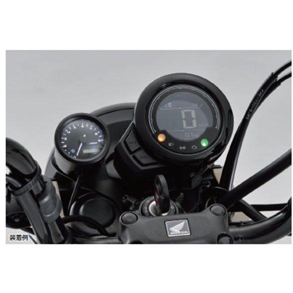 DAYTONA デイトナ HONDA CT125 ハンターカブ 電気式タコメーターキット 48タコメーターKIT/CT125(20) ブラックボディ 3色LED 18898
