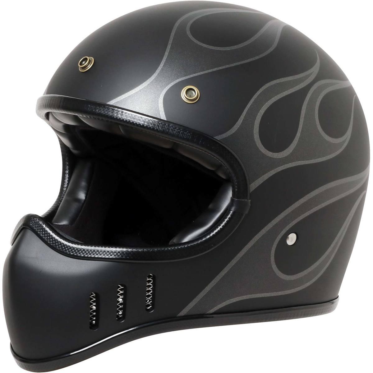 人気の レトロヘルメットにデザインヘルメット が登場デザインは派手ですが落ち着いたカラーでクールなヘルメット に仕上がっております 捧呈 新品アウトレット ROAD WARRIOR ジョンソン 価格交渉OK送料無料 ロードウォリアー デザイン ファイヤー パターン ハーレー ヴィンテージ ヘルメット アメリカン ストリート ロード レトロ オートバイ オフロード シールド バイク