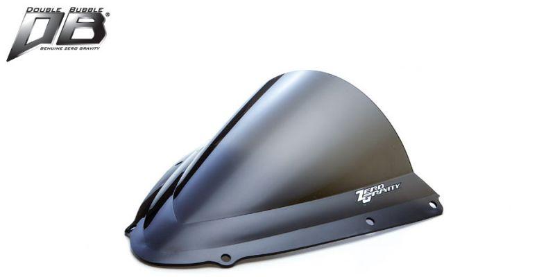 ZERO GRAVITY(ゼログラビティ) ウインドシールド 風防 スクリーン ダブルバブル ダークスモーク GSXR1000 05-06 品番:16109M19