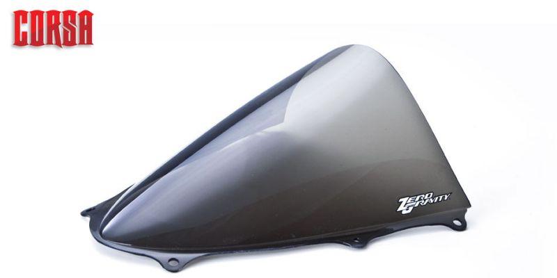 蔵 ZERO 最新号掲載アイテム GRAVITY ゼログラビティ ウインドシールド 風防 スクリーン GSXR1000 コルサ スモーク 品番:24113M02 09-16