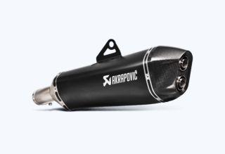 AKRAPOVIC(アクラポヴィッチ) マフラー サイレンサー [E4仕様] スリップオンライン チタン (ブラック マフラー)  F650GS 08-12 BMW F700GS 13-17/F800GS 08-17/F800 GS ADV 13-17 品番:S-B8SO6-HZAABL