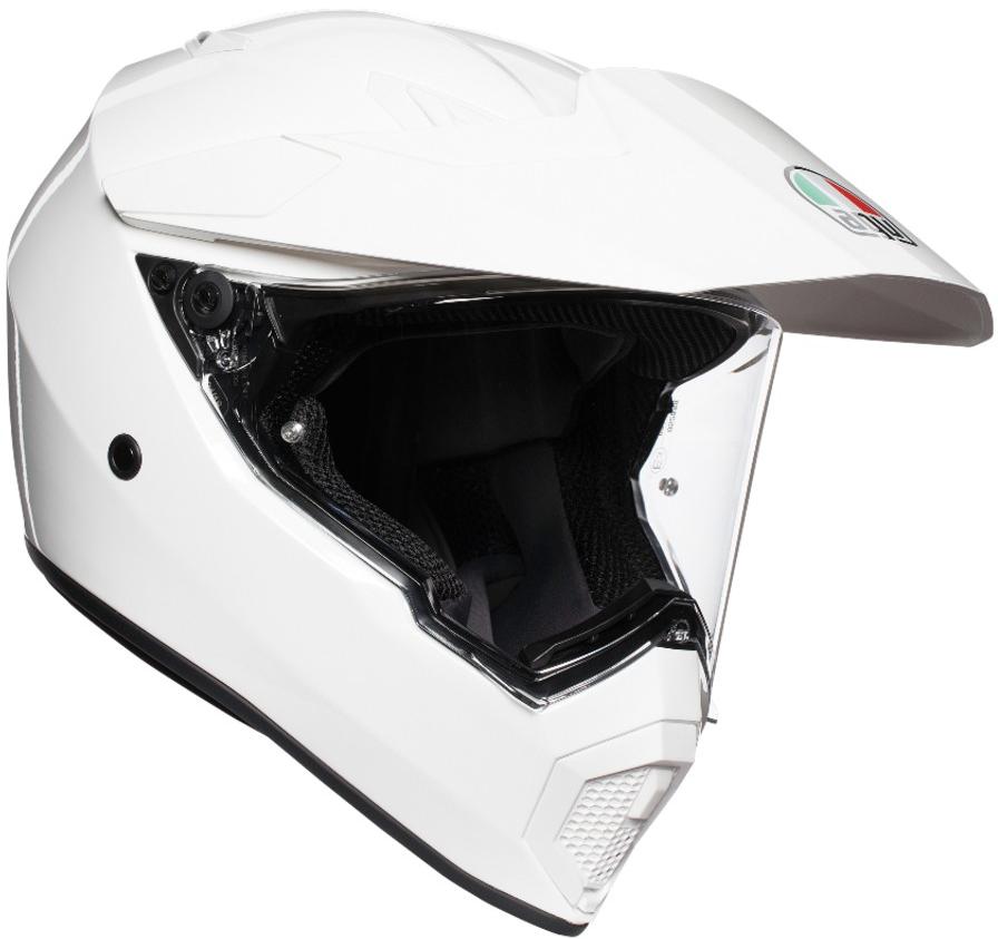 AGV(エージーブイ) バイク用ヘルメット オフロード AX9 WHITE (ホワイト) MLサイズ (58-59cm)763194LY-002-ML