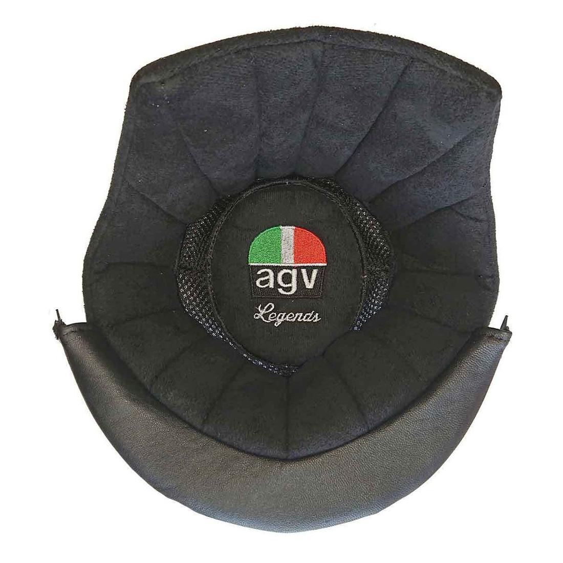 AGV(エージーブイ) ヘルメットパーツ 内装 X3000用 TOP PAD X3000 ASIAFIT (トップパッド) Mサイズ KIT0012400101