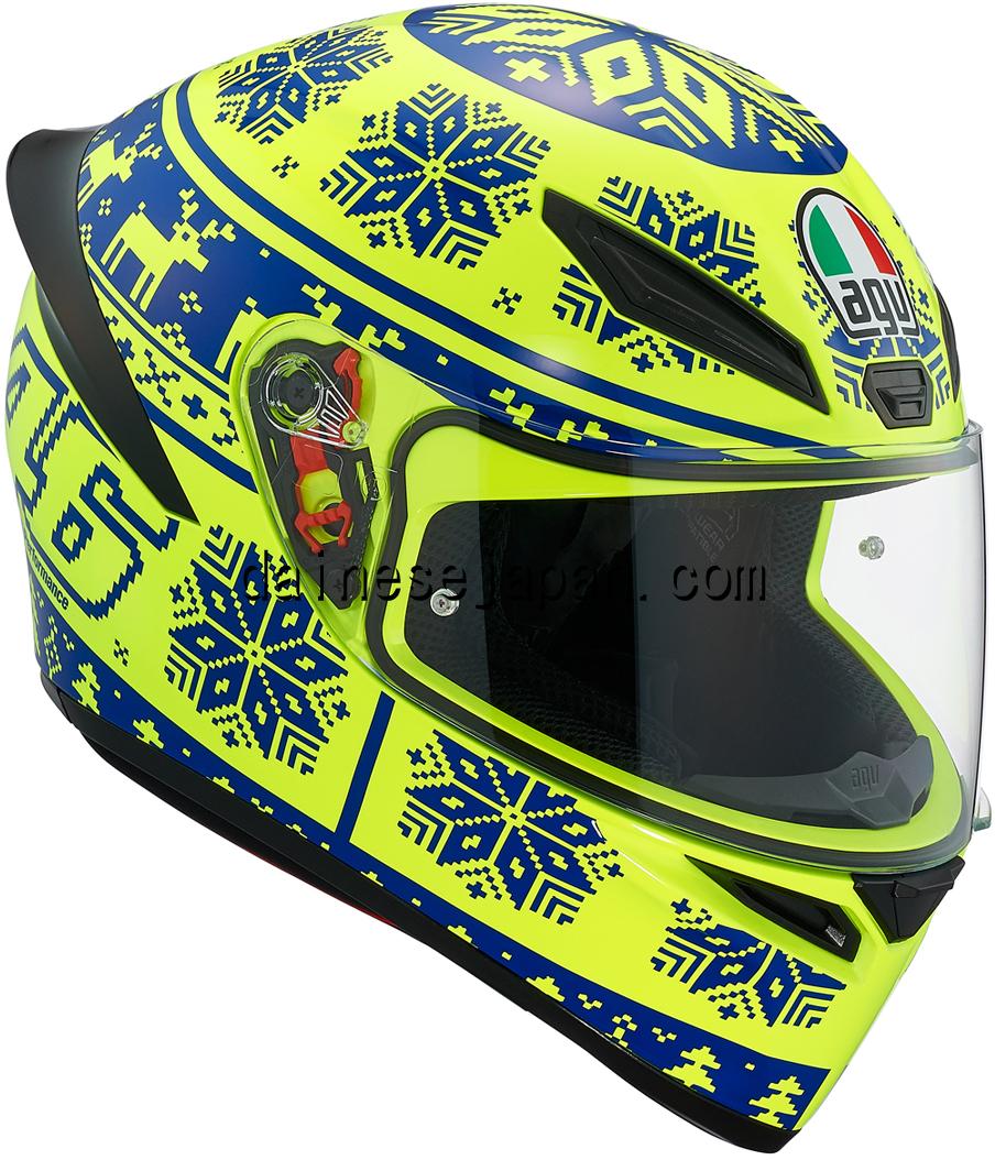 AGV(エージーブイ) バイク用ヘルメット フルフェイス K1 WINTER TEST 2015 (ウィンターテスト 2015) Lサイズ (59-60cm) 028190IY001-L