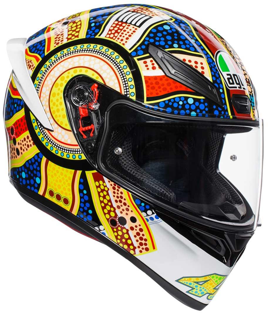 AGV(エージーブイ) バイク用ヘルメット フルフェイス K1 DREAMTIME (ドリームタイム) Lサイズ (59-60cm) 028190IY005-L
