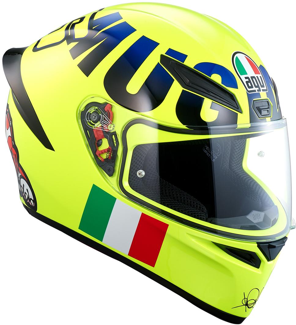 AGV(エージーブイ) バイク用ヘルメット フルフェイス K1 ROSSI MUGELLO 2016 (ムジェロ 2016) Mサイズ (57-58cm) 028190IY008-M