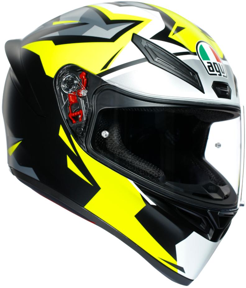 AGV(エージーブイ) バイク用ヘルメット フルフェイス K1 MIR 2018 (ミル 2018) Lサイズ (59-60cm) 028191IY002-L