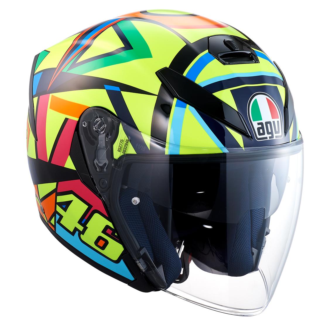 AGV(エージーブイ) バイク用ヘルメット ジェット K-5 JET SOLELUNA 2017 (ソレルナ 2017) Lサイズ (59-60cm) 113190G0-007-L