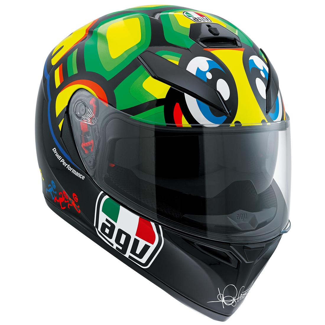 AGV(エージーブイ) バイク用ヘルメット フルフェイス K-3 SV TARTARUGA MPLK (タルタルーガ) Mサイズ (57-58cm) 030190MF003-M