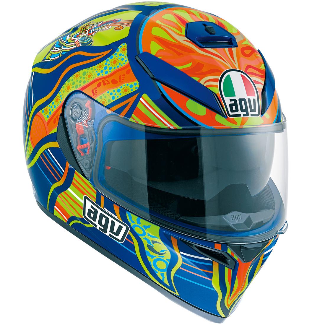 AGV(エージーブイ) バイク用ヘルメット フルフェイス K-3 SV FIVE CONTINENTS MPLK (ファイブ コンチネンツ) Lサイズ (59-60cm) 030190MF002-L